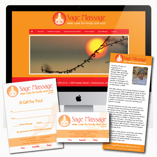 Sage-Massage-Branding