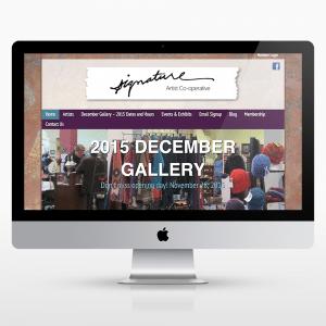 Artist-Directory-Membership-Website-Design