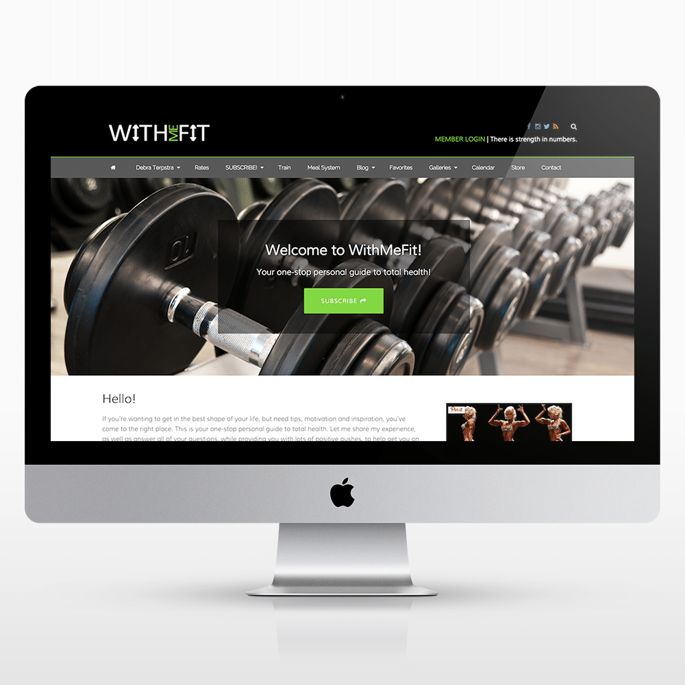 Membership-Fitness-Website-Design