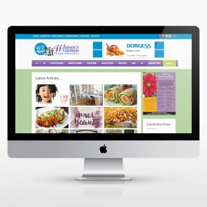 Womens-Magazine-Website-Design
