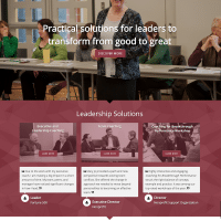 Business Leader Coach Website Design