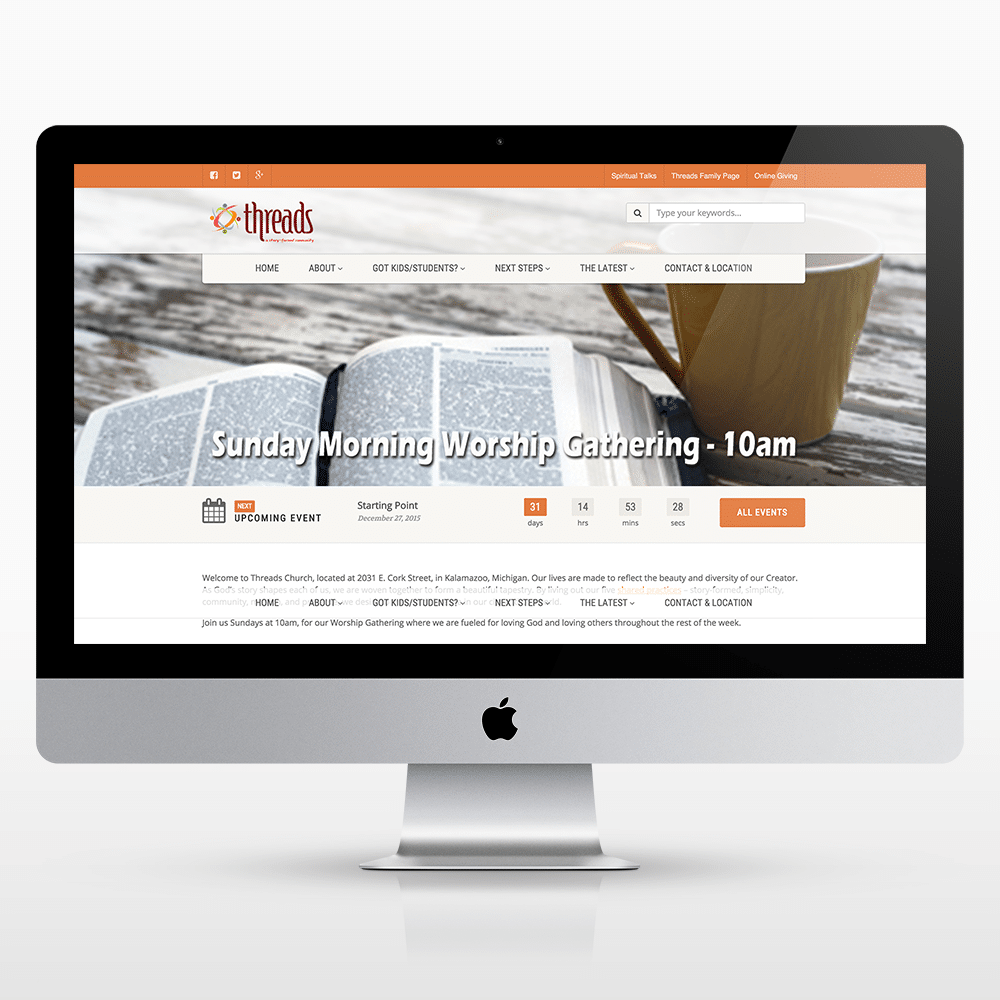 church-website-design-content-management