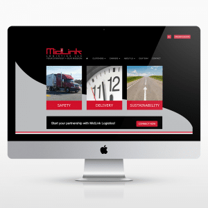logistics-website-design