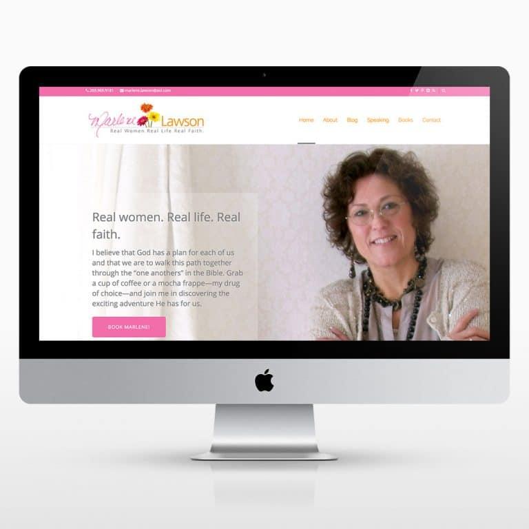 Marlene Lawson Website Design