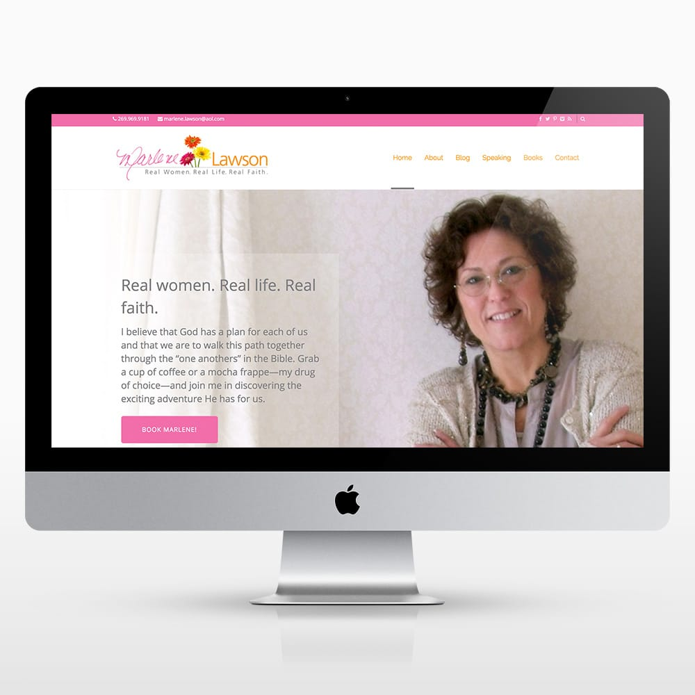 Marlene Lawson Website Design