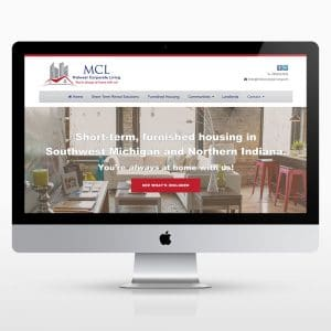 Corporate Rental Website Design