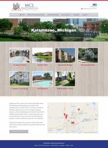 Corporate Rental Website