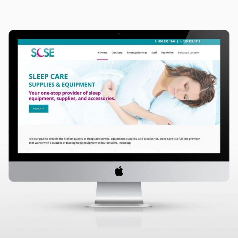 Kalamazoo Sleep Care Supplies Website