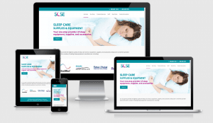 Kalamazoo Sleep Care Responsive Website Design