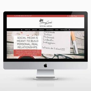 Social Media Strategist Website Design