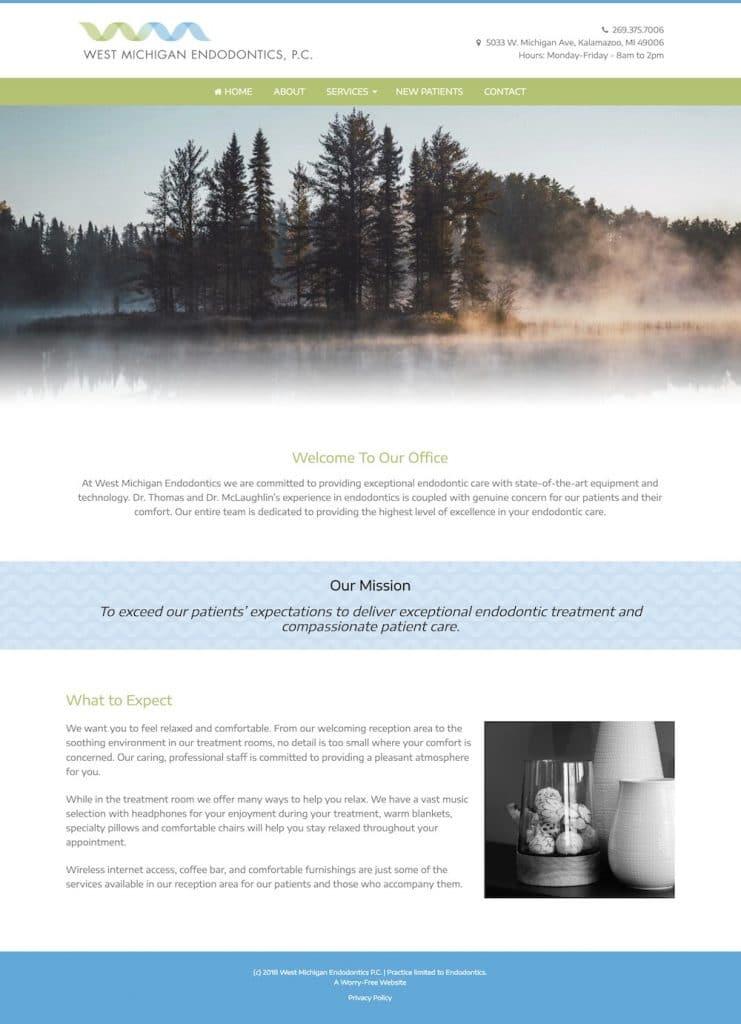 Endodontist Website