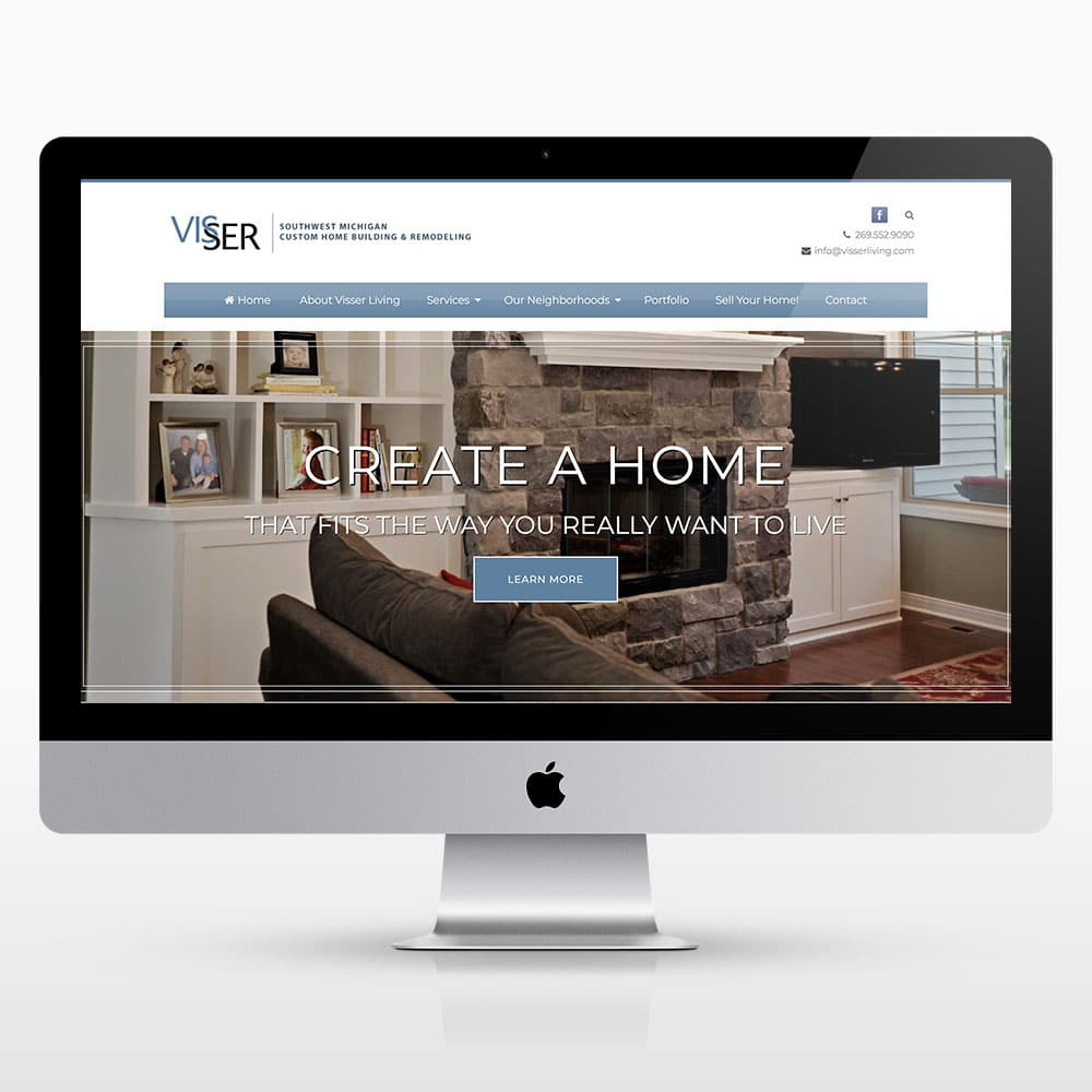 Custom websites archives kalamazoo web design small for Home building websites