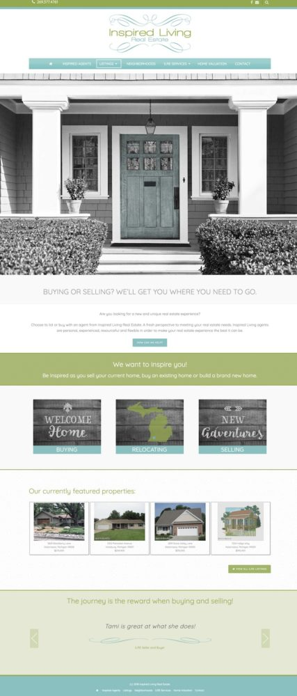 Real Estate Office Website Design