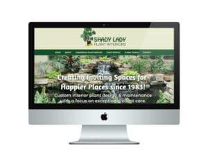 Plant Landscaping Website Design