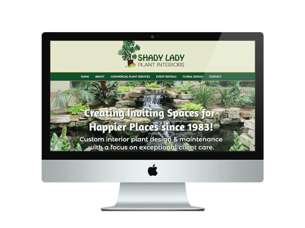 Plant Landscaping Website Design