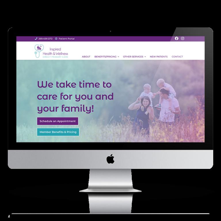 Inspired Health & Wellness Website