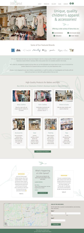 Boutique Website Design