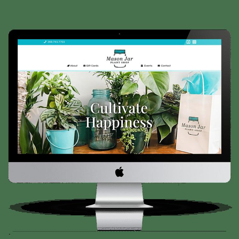 Plant Shop Web Design