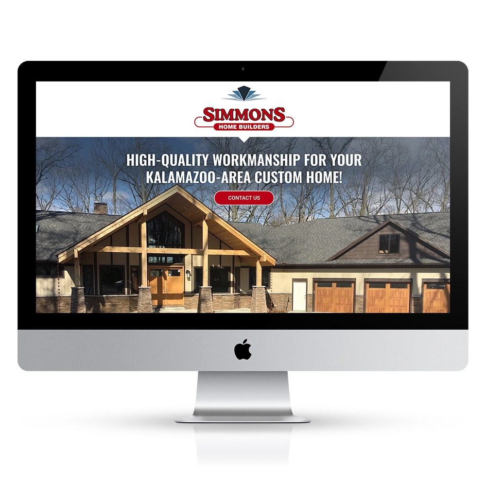 Simmons Home Builders Website