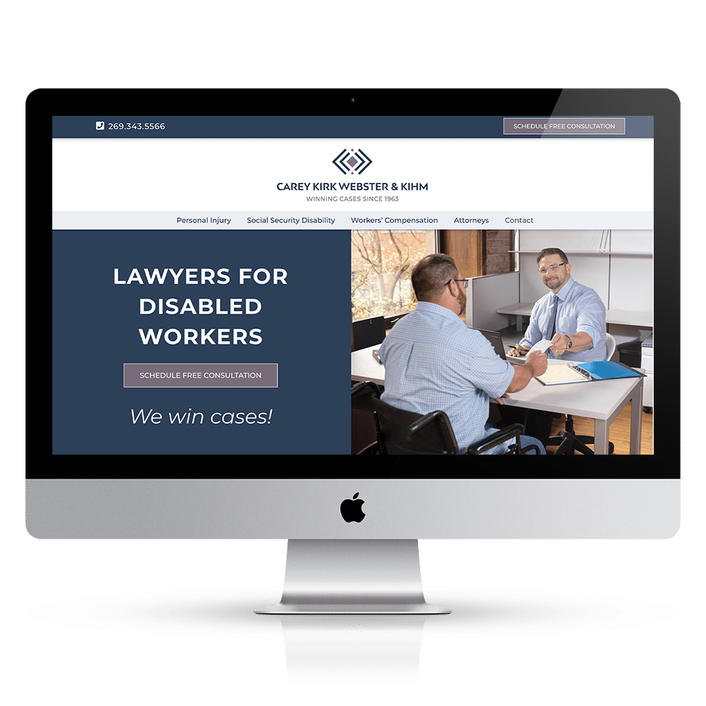 web design for lawyers and law offices